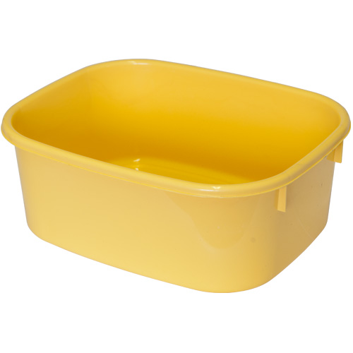 Lucy Large Oblong Washing Up Bowl - Mild Yellow