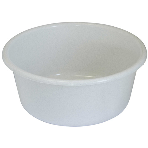 Lucy 11 inch Round Washing Up Bowl - Granite