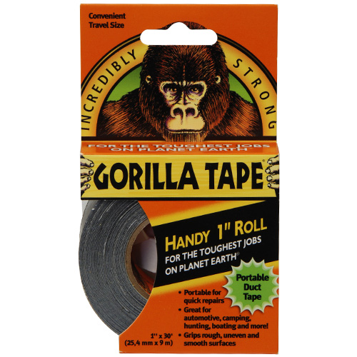 Gorilla Tape Handy Roll - 25mm x 9.14 Metres