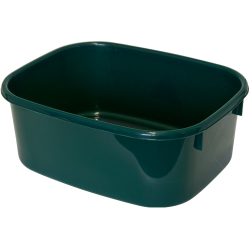 Lucy Small Oblong Washing Up Bowl - Verdigris