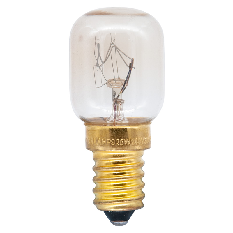 Appliance Oven Lamp Bulb 25W 240V E14 SES, Clear