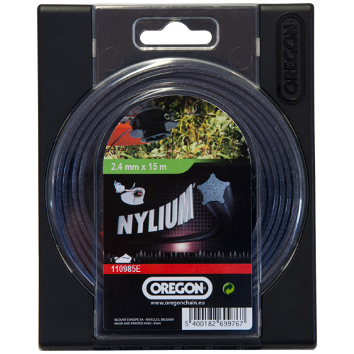 Oregon Strimmer Cutting Line 2.4mm x 15M Nylium 110985E
