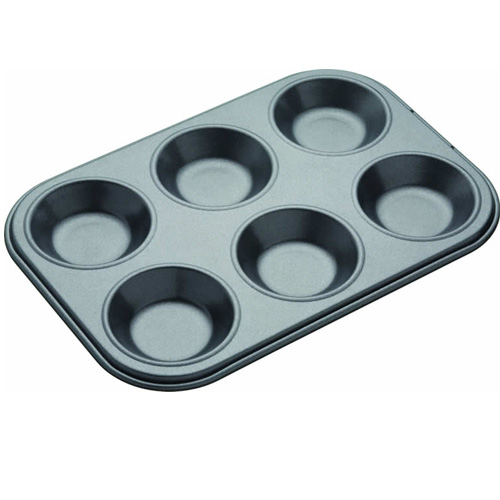 Masterclass 6 Hole Baking Pan / Bun Tin