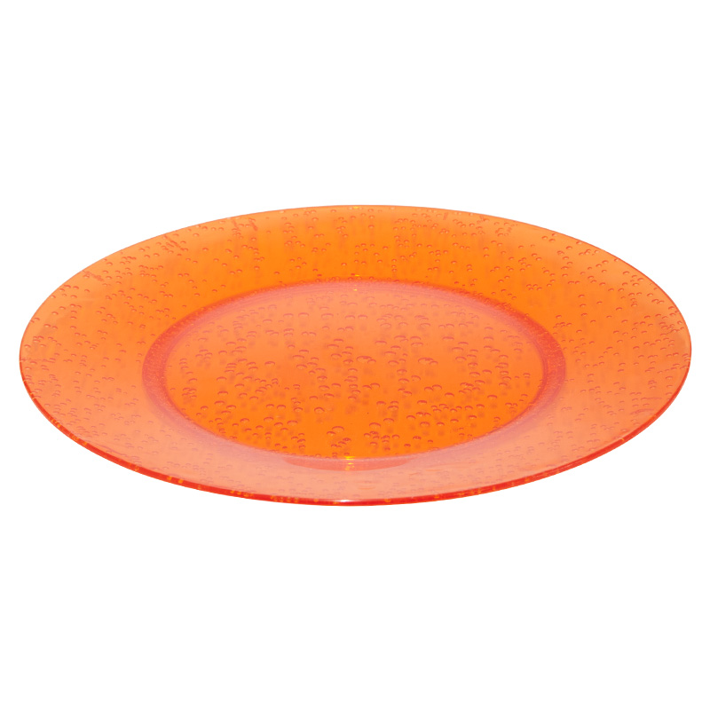 Navigate Summerhouse Aruba Bubble Plate, Orange