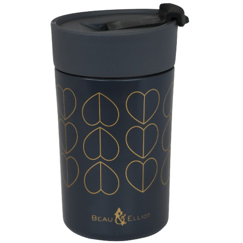Beau and Elliot Insulated Travel Mug, 300ml, Champagne Edit Dove