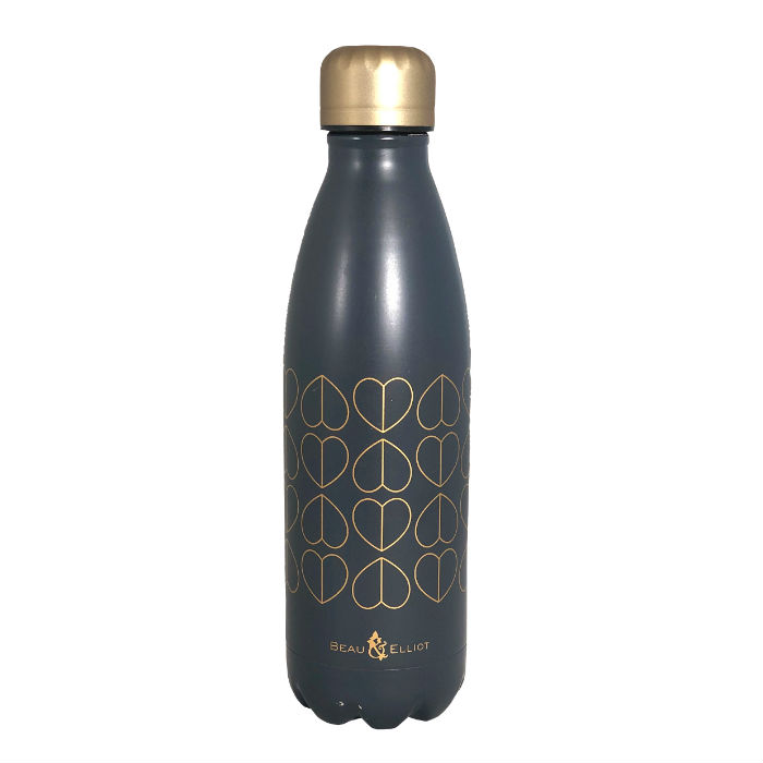 Beau and Elliot Vacuum Insulated Drinks Bottle, 500ml, Dove