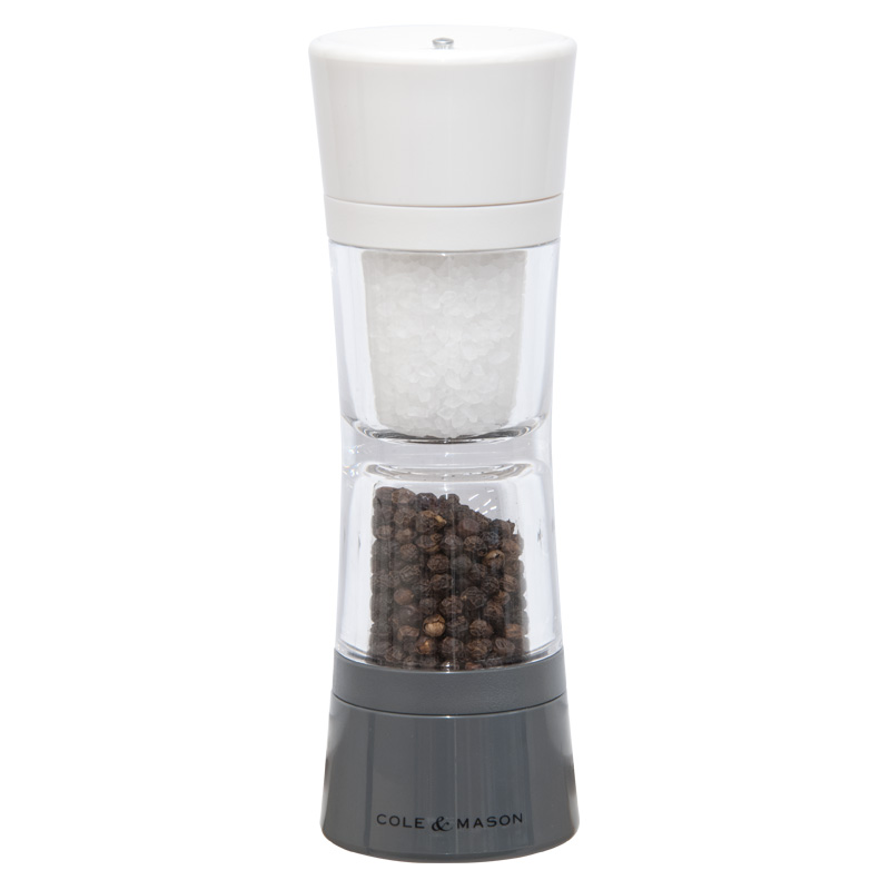 Cole and Mason Lincoln Salt and Pepper Duo Mill, 190mm
