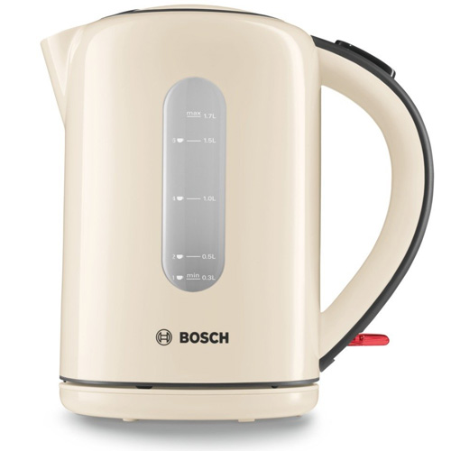 Bosch Village Collection 1.7L Kettle - Cream TWK76075GB