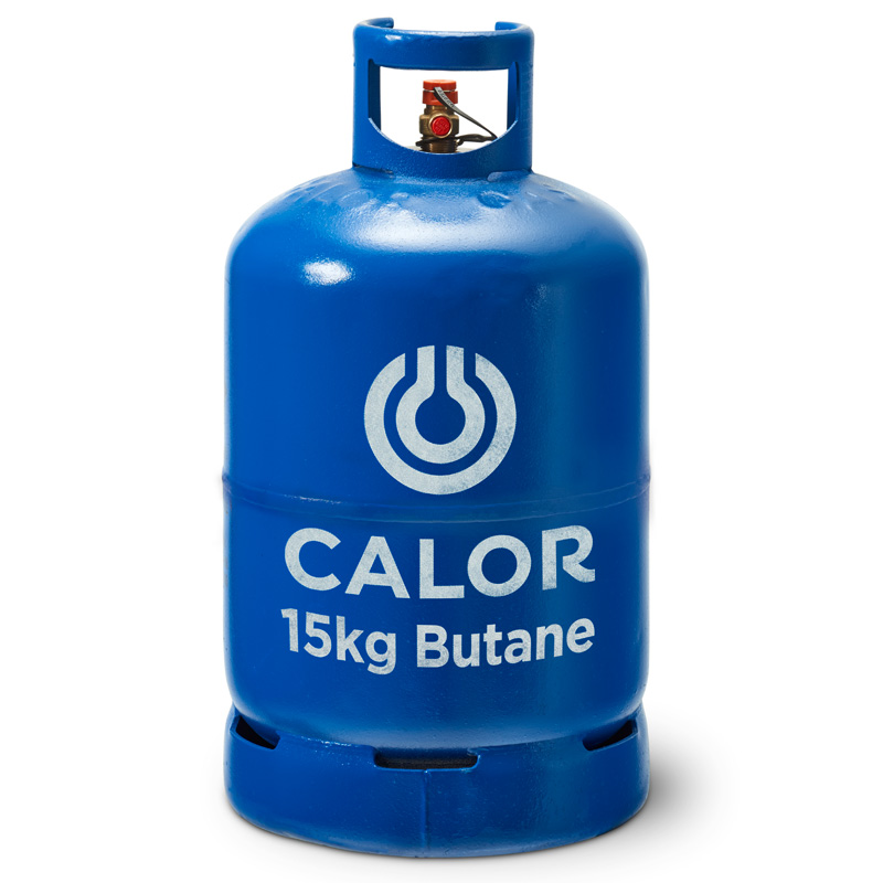 Calor Butane 15kg Gas Bottle Refill