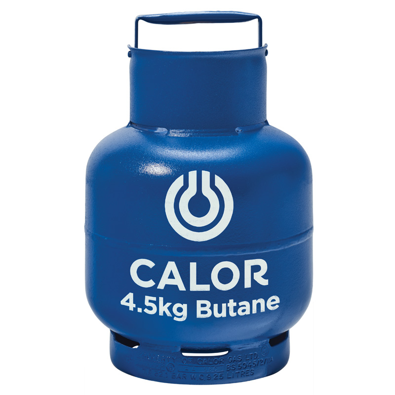 Calor Butane 4.5kg Gas Bottle Refill