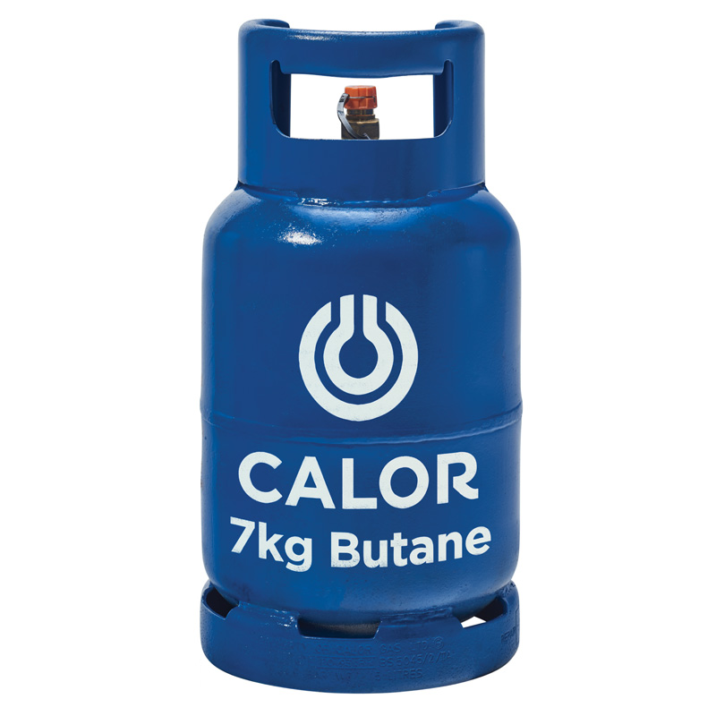Calor Butane 7kg Gas Bottle Refill