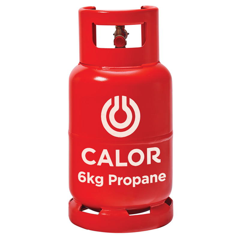 Calor Propane 6kg Gas Bottle Refill