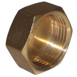 Brass Cap - 1 BSP Female
