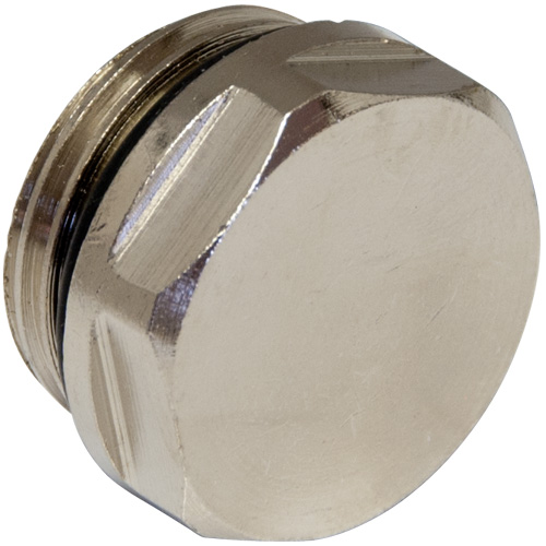 Chrome 1/2 BSP Radiator Plug