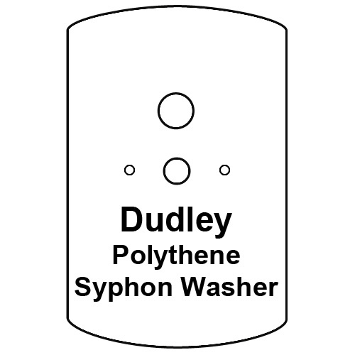 Cistern Syphon Diaphragm Washer, Dudley Pattern