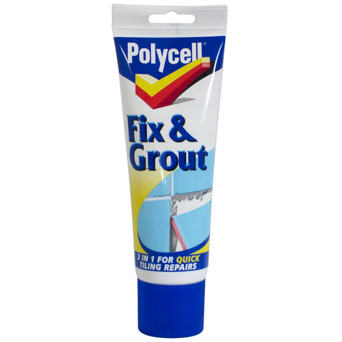 Polycell Fix & Grout - 330g Tube