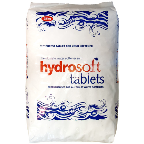 Hydrosoft Water Softener Salt, Tablets, 25Kg