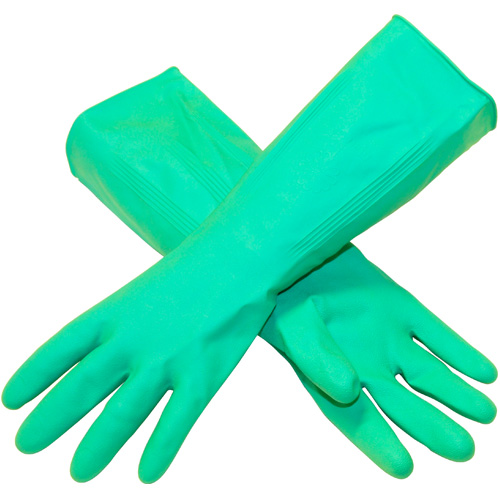 Marigold Lined Bathroom Gloves - 7 1/2 Medium