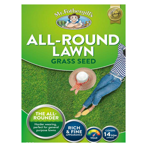 All Round Lawn Grass Seed - 1.5kg