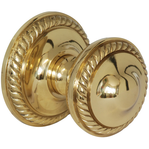 Primalite Polished Brass Regency Centre Knob