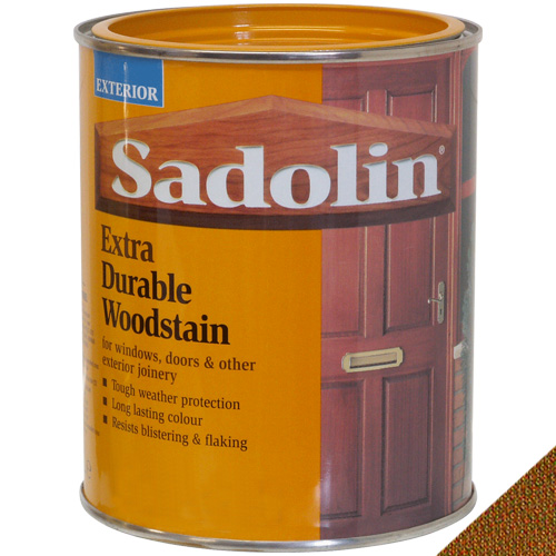 Sadolin Extra Durable Woodstain African Walnut - 1 Litre