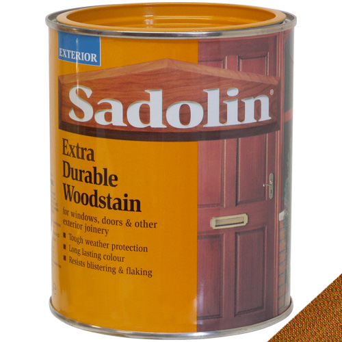 Sadolin Extra Durable Woodstain Burma Teak - 1 Litre