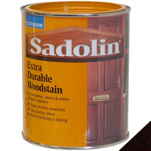 Sadolin Extra Durable Woodstain Dark Palisander - 1 Litre