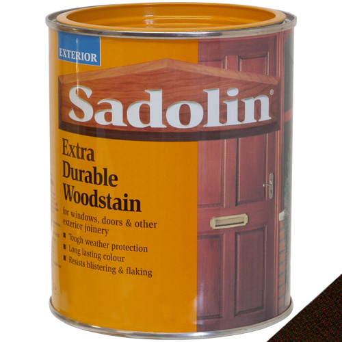 Sadolin Extra Durable Woodstain Jacobean Walnut - 1 Litre
