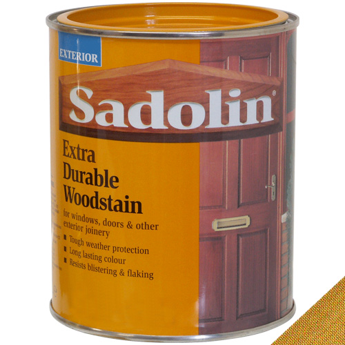Sadolin Extra Durable Woodstain Light Oak - 1 Litre
