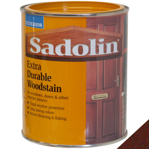 Sadolin Extra Durable Woodstain Mahogany - 1 Litre