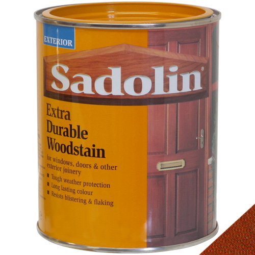 Sadolin Extra Durable Woodstain Redwood - 1 Litre