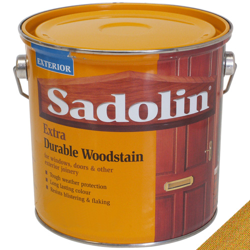Sadolin Extra Durable Woodstain Light Oak - 2.5L