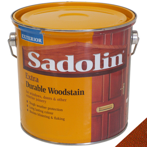 Sadolin Extra Durable Woodstain Redwood - 2.5L