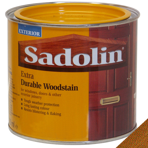 Sadolin Extra Durable Woodstain Burma Teak - 0.5 Litre
