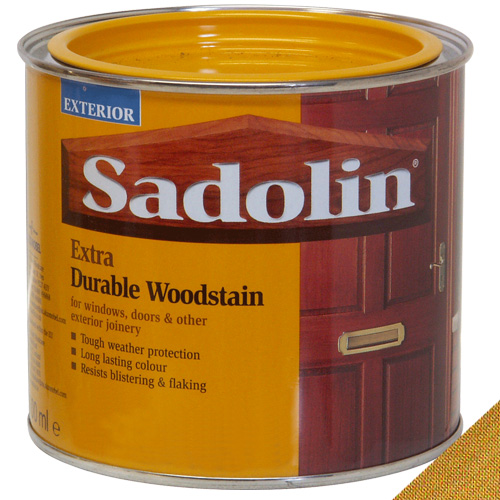 Sadolin Extra Durable Woodstain Light Oak - 0.5 Litre