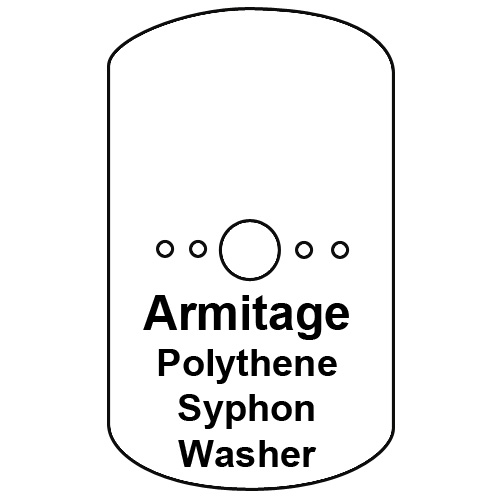 Cistern Syphon Diaphragm Washer, Armitage Pattern