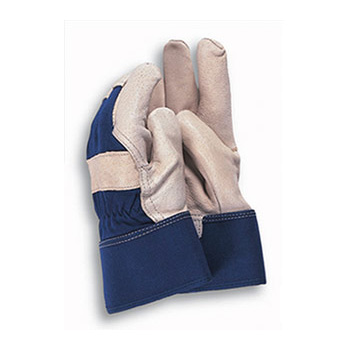 Town & Country Washable Leather Work Gloves Size:7-8 (TGL111)