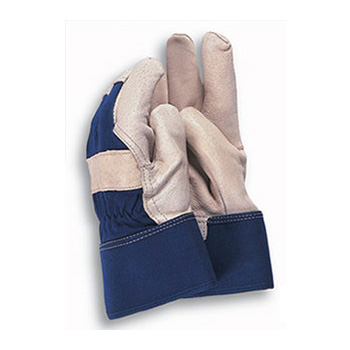 Town & Country Washable Leather Work Gloves Size:9-10 (TGL416)