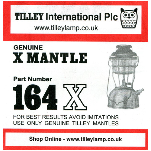 Tilley 164X Genuin X Mantle
