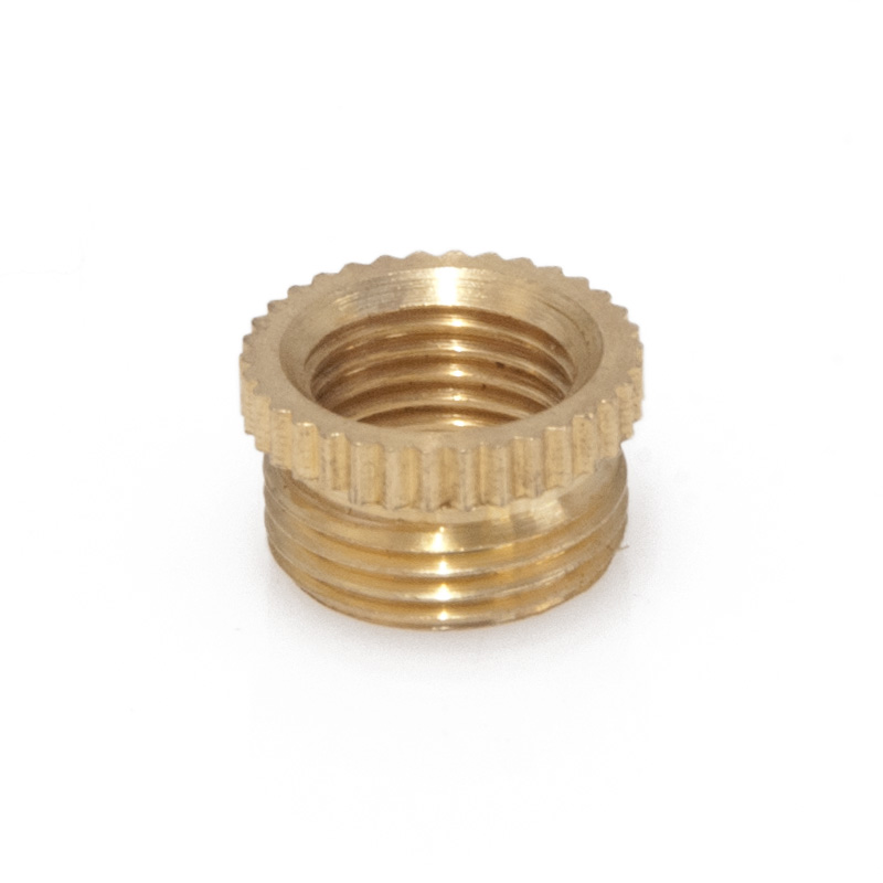 Brass Reducer, 0.5 inch To 10mm