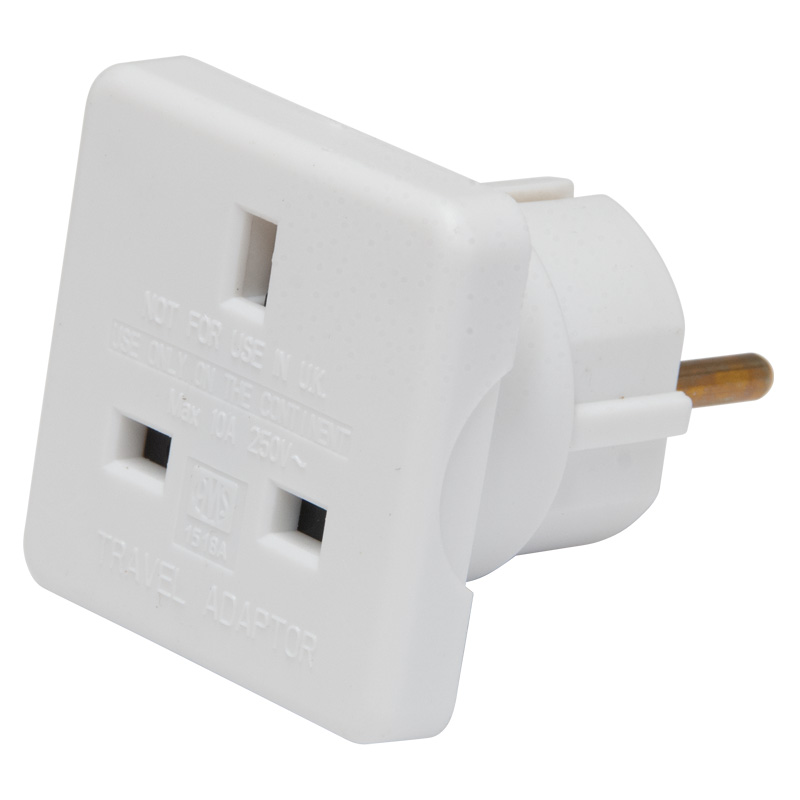 Worldwide Products European Travel Adaptor