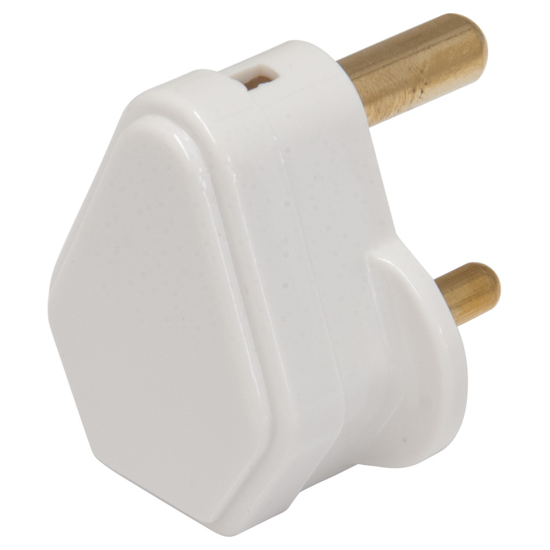Worldwide Products 3 Pin Mains Plug, Rated 5 Amps