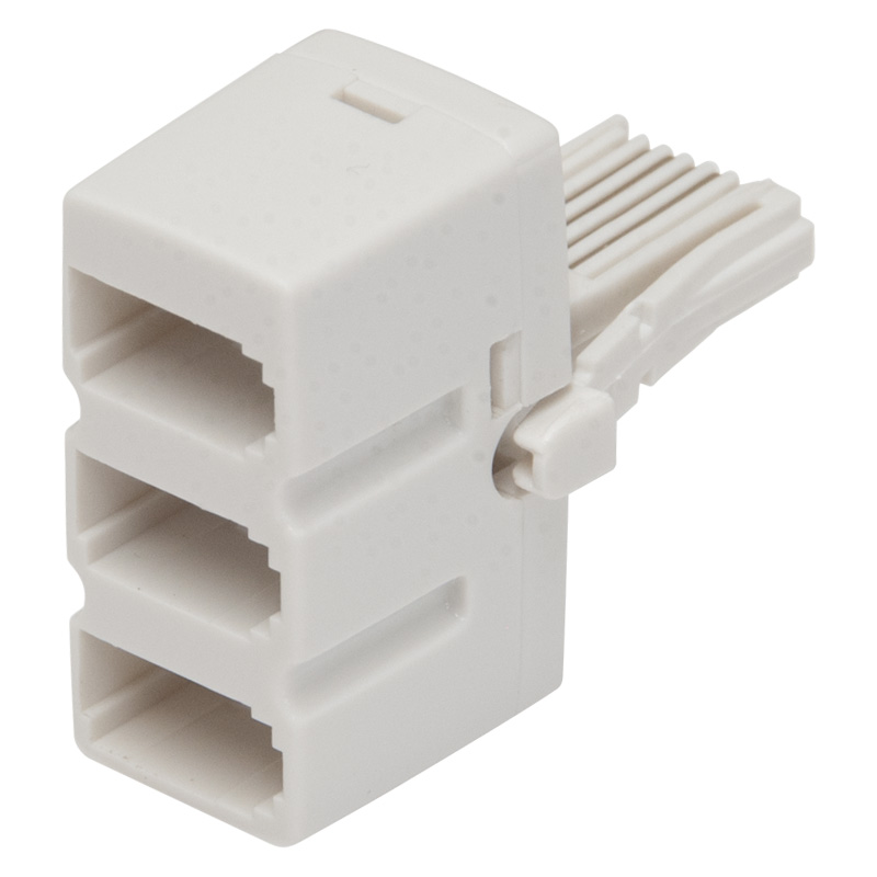 Worldwide Products Triple BT Telephone Adaptor