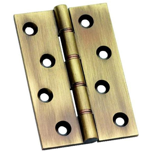 Primalite Antique Brass Washered 4 inch Butt Hinge (XL530)