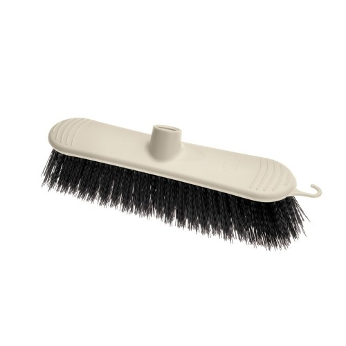 Addis Stiff Broom Head 38cm - Linen