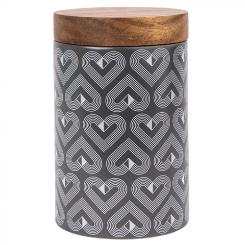 Beau and Elliot Ceramic Storage Canister - Vibe Biscuit Jar Slate