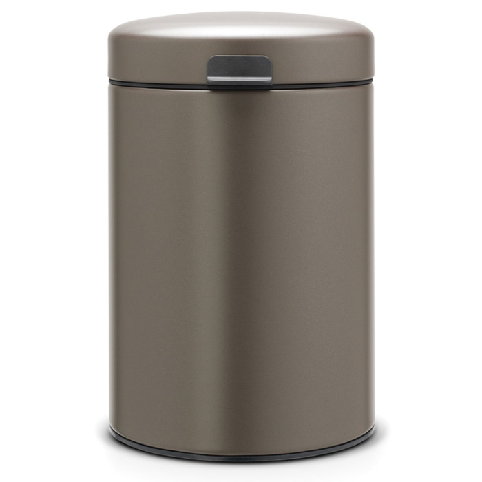 Brabantia Wall Mounted Bin NewIcon, Platinum, 3L (116223)