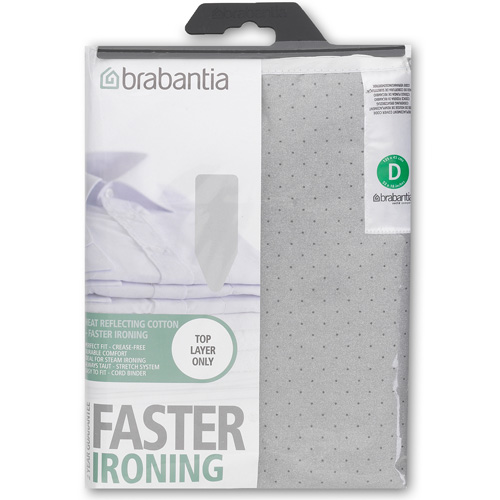 Brabantia Ironing Board Cover, Size D, Heat Reflecting