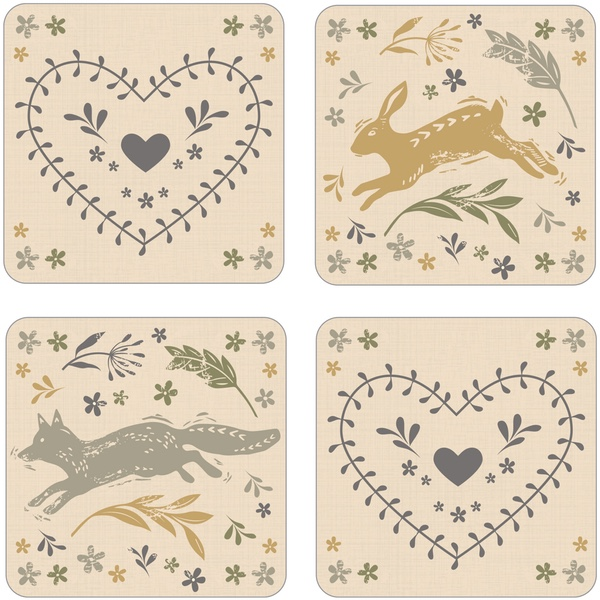 Napkins, Placemats and Coasters