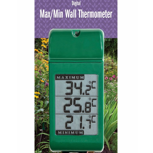 Garden Thermometers and Rain Gauges
